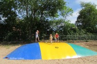 Airtrampolin Camping de Geuldert Holland