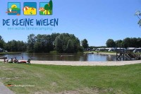 Campingplatz am Wasser in Friesland Holland