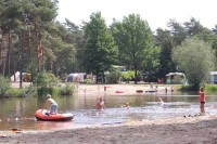 Camping am Erholungssee in Holland